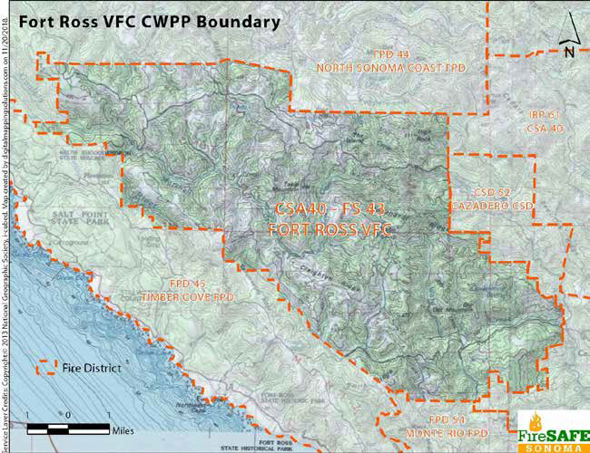 Fort Ross VFC CWPP Boundary