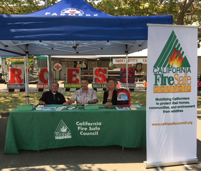 Fire Safe Sonoma at the Sonoma County Fair